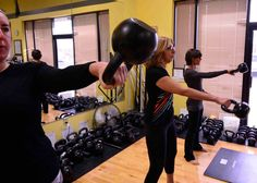 Need a great kettlebell plan for leading your small group fitness classes?
