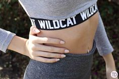 Wildcat clothing: From the gym to a night out - Trigger Dream Spice Things Up, Night Out, Style Fashion, Fashion Inspiration, Crop Tops, Workout, Casual, Shirt, How To Wear