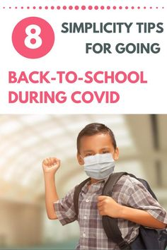 Going back-to-school is always a transition, but it's never been more uncertain than during this pandemic. Fear not! This post shares 8 simplicity tips to help you and your kids head back-to-school in an organized, simplified way... even during COVID. Read, enjoy, and cheers to a safe, healthy, and simplified back-to-school! Teacher Survey, Minimalist Parenting, Kids Bedroom Organization, Welcome Letters, Keynote Speakers, Last Day Of School, Going Back To School, School Classroom, Family Life