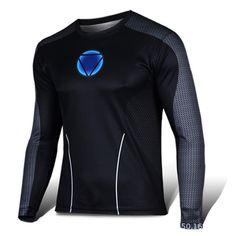 Black Panther Clothes Avengers 3 Infinite War Fitness Quick-Drying Tops Tights Marvel Short-Sleeved T-Shirt Men Superhero T-Shirt