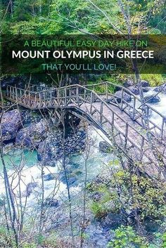 Mount Olympus is the highest mountain in Greece, but you can enjoy this beautiful day hike on Mount Olympus if you're looking for something easier. I also recommend checking out hiking tours in nearby Meteora: http://monkeysandmountains.com/meteora-tours-greece-travel/