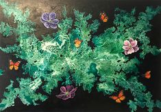 Plants, Painting, Naturaleza, Paintings, Artists, Painting Art, Planters, Painted Canvas, Plant