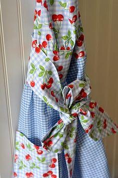 Cherry apron