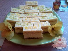 Citrom szelet Hungarian Desserts, Hungary, Cooking Recipes, Cheese, Baking, Cake, Food, Watercolor, Cooking