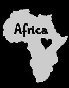 Resultado de imagem para i love africa quotes Mama Africa, Out Of Africa, South Africa, Arte Black, Black Art, Africa Tattoos, Afrique Art, African Love, African Proverb