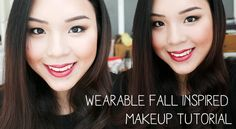 Wearable Fall Inspired Makeup Tutorial!