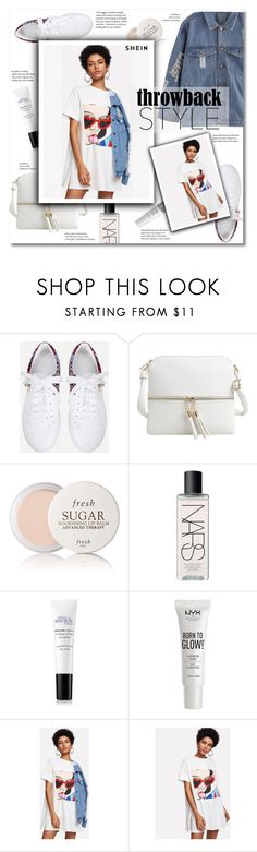 """Throwback style"" by smajlovicelvira ❤ liked on Polyvore featuring Epic Chic, Fresh, NARS Cosmetics and NYX"