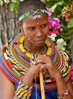 Αφρικανική γυμνή γυναίκα