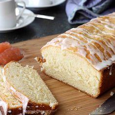 Glazed Pink Grapefruit Quick Bread Recipe
