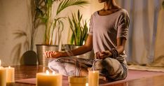 9 Tools That'll Take Your At-Home Meditation Space To The Next Level (MindBodyGreen) Group Meditation, Meditation Space, Meditation Practices, Back Fat Workout, Workout For Flat Stomach, Beginner Workout At Home, Workout For Beginners, Brain Structure, Sound Bath