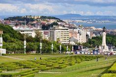 Parque Eduardo VII lisboa portugal guia turismo