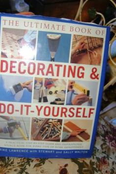 """book, 'DECORATING IT AND FIXING IT YOURSELF"""" coffee large, table size"""