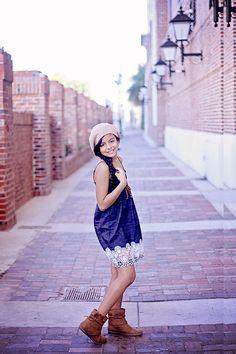 Simple Look for Girl & pre-teen, model