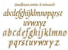Cancelleresca corsiva. LUDOVICO DEGLI ARRIGHI. http://tipo-3.blogspot.com