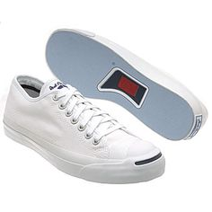 Every guy should have a crisp and perfectly clean pair of all white Jack Purcells