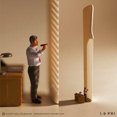 """Tatsuya Tanaka """"Miniature Calendar"""""""