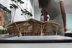 Architecture of the World Maquette Architecture, Architecture Design, Bamboo Architecture, Concept Architecture, Tectonic Architecture, Computer Architecture, Building Architecture, Roof Design, House Design