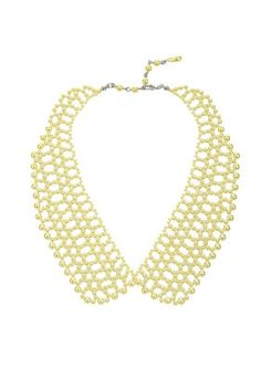 Topshop Pearl Collar Necklace