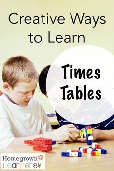 Creative Ways to Learn Times Tables Fun Math, Math Activities, Maths, Math Multiplication, Steam Activities, Homeschool Curriculum Reviews, Homeschooling, Times Tables, Education Quotes For Teachers