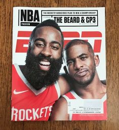 #ad ESPN Magazine October 2017 NBA PREVIEW James Harden CHRIS PAUL The Beard CP3 http://rover.ebay.com/rover/1/711-53200-19255-0/1?ff3=2&toolid=10039&campid=5337950191&item=282923635179&vectorid=229466&lgeo=1