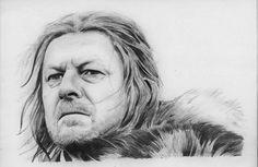 Ned Stark Game of Thrones by BORJICH.deviantart.com on @deviantART