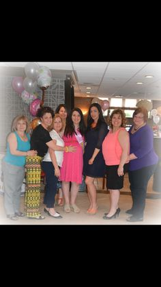 Aunts at the baby shower
