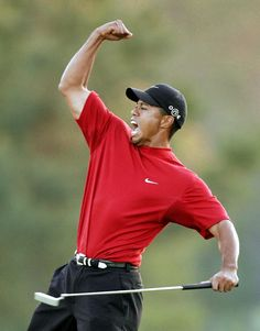 The 48 greatest quotes about winning Golf Tiger Woods, Woods Golf, Golf Club Fitting, Golf Pga, Fist Pump, Golf Quotes, Golf Lessons, Sports Figures, Golf Humor
