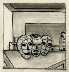 Máscaras. Lino Elías Sapiainen