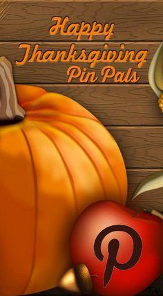 Happy Thanksgiving Pin Pals ♥ Tam ♥