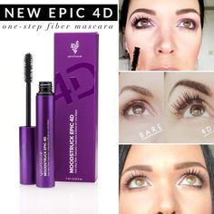 Restock alert on the best mascara EVER! Grab you Epic Fiber Mascara today before it goes out of stock AGAIN! Shop link in bio ⬆️⬆️   Natural Glowy Makeup, Natural Wedding Makeup, Brown Matte Lipstick, Younique Presenter, Mascara Younique, One Step, Fiber Mascara, Best Mascara, Organic Makeup