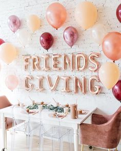 25 Fun Friendsgiving Decor Ideas For Holiday Celebrating | Home Design And Interior