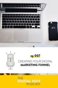 Creating Your Digital Marketing Funnel — Honey Pot Digital Marketing Articles, Email Marketing, Content Marketing, Digital Marketing, Online Coaching, Email List, Make Money Blogging, Social Media Tips, Create Yourself
