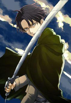 Levi Ackerman - Attack on Titan - Shingeki no Kyojin