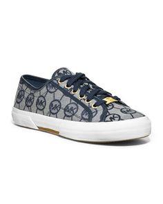 MICHAEL Michael Kors Boerum Canvas Sneaker - Michael Kors- $74