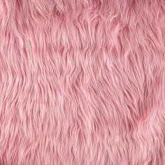 Faux Fur Mongolian Pink from @fabricdotcom  This super soft high quality faux fur fabric has a 2 1/2'' long lustrous pile. It's perfect for stuffed animals, faux fur jackets and vests, pillows and throws.