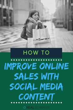 To improve online sales you don't just need conversion optimization tactics. Instead, discover how to improve online sales with social media content and streamline the buyer's journey as well. Social Media Trends, Social Media Channels, Social Media Content, Content Marketing, Social Media Marketing, Social Business, Business Ideas, Pinterest For Business, Influencer Marketing