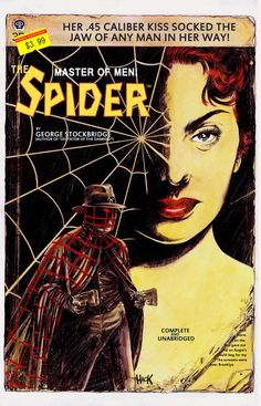 Another Dynamite cover for my portfolio. Their pulp revival books have been some of my favorite comics of the last few years. The Spider Marvel Images, Marvel E Dc, Pulp Fiction Characters, Detective, Spider Book, Dark Men, Pulp Magazine, Comedy Films, Classic Comics