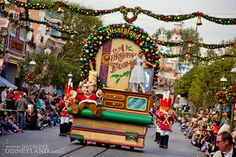 "Holidays are in full swing at Disneyland with the return of seasonal favorites including the ""A Christmas Fantasy"" Parade.  What's your favorite part of the holidays at Disneyland?"