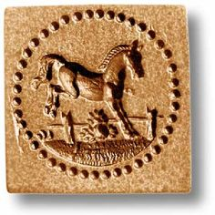 Little Jumping Horse Springerle Cookie Mold