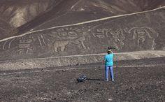Lineas de Palpa, conectadas a Nazca.