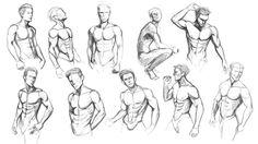 Torso Studies by Yaoi-Hirako