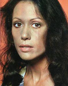Dina Sfat, Brazilian actress. A guest of mine at the screening of The Barefoot Contessa (Cadernos de Cinema talk-show, 1978)