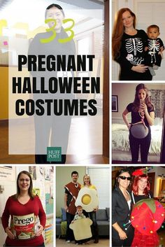 33 Creative Halloween Costumes For Pregnant Women