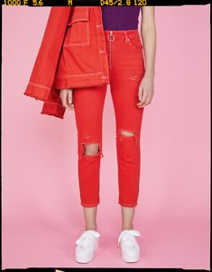 Slim fit jeans with ring zipper pull - Tees - Bershka United States Zara Shop, Beste Jeans, Best Jeans For Women, Slim Fit, Jeans Pants, Perfect Fit, Ideias Fashion, Cool Style, Capri Pants