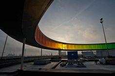 "Olafur Eliasson's ""Your rainbow panorama"" in Århus, Denmark"
