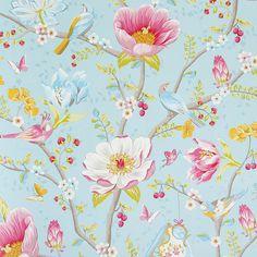 Pip Studio - Chinese Garden Wallpaper - 341002 Light Blue