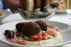 fantastic falafel and humus dish @ 'tewa' in vienna (austria)