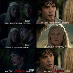 My favorite #Bellarke parallel<3 #The100