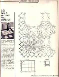 """""""Crochet magico № 5"""". Discussione sulla LiveInternet - Russo Servizi online Diaries"""