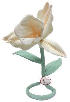 Handmade Artificial Flower Decoration Cream Soft Sculpture Wired El Salvador in Home, Furniture & DIY, Home Decor, Dried & Artificial Flowers | eBay